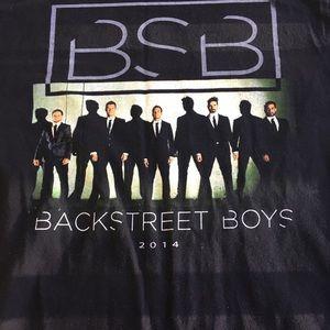 BACKSTREET BOYS  2014 CONCERT TEE